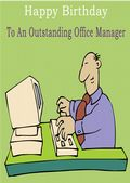 Office Manager - Greeting Card